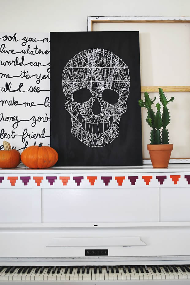 Halloween-A-Beautiful-Mess-Skull